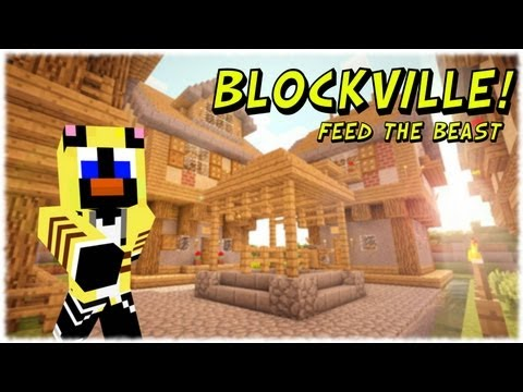 Blockville Feed the Beast! - A CHESTPLATE OF THE GRAVITY VARIETY!