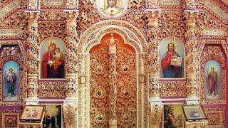 Монастырь в Полтаве(Крестовоздвиженский монастырь в Полтаве и его резной иконостас., 2015-01-14T21:53:22.000Z)