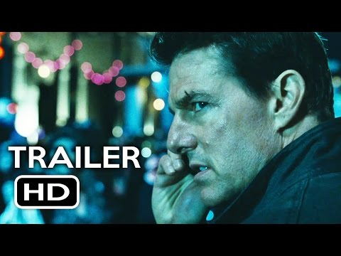 Jack Reacher: Never Go Back Official Trailer #1 (2016) Tom Cruise, Cobie Smulders Action Movie HD streaming vf