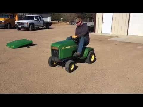 BigIron Auctions- JD 180 Lawn Tractor- Mar 14, 2018