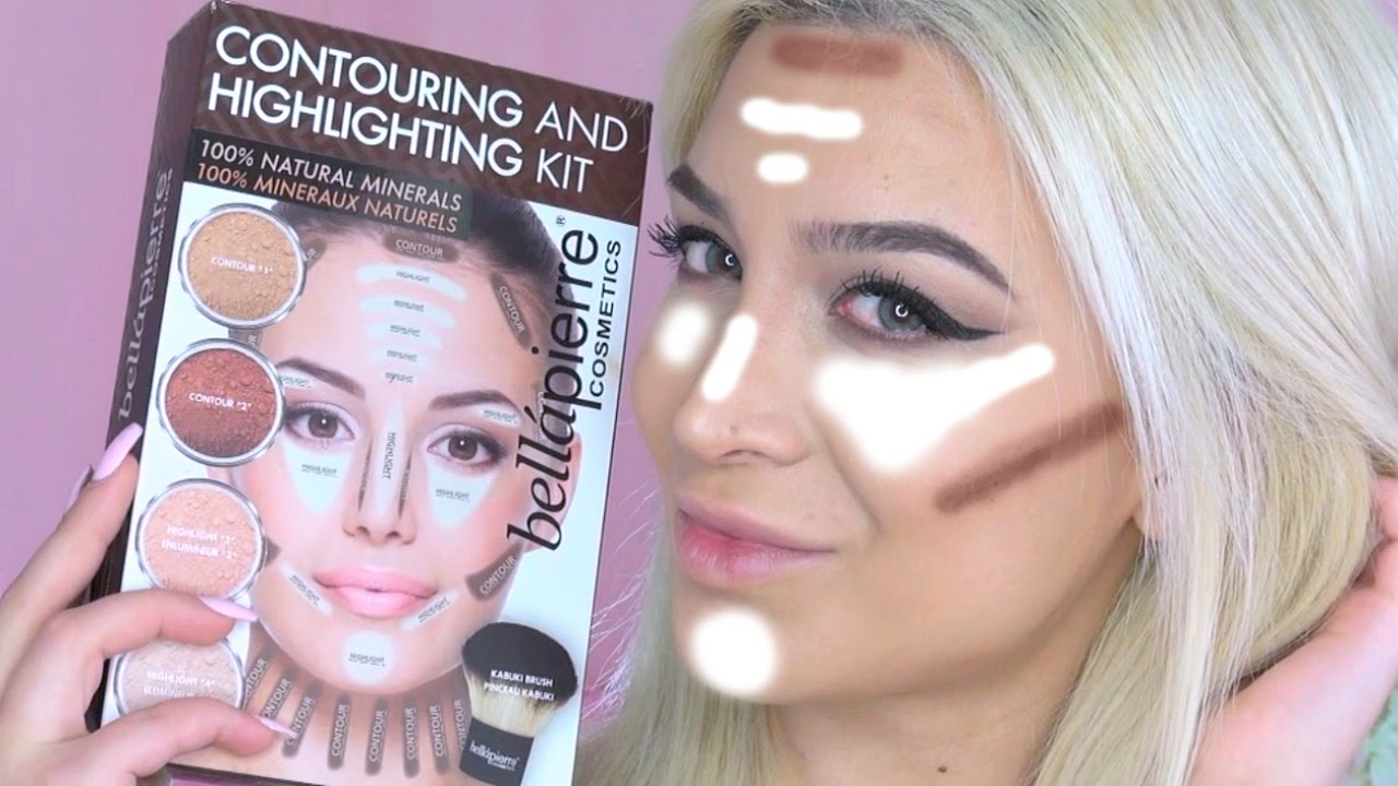 Bellapierre Contouring And Highlighting Kit Demonstration