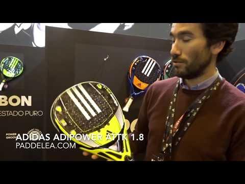Pala de padel potencia: Adidas Adipower Attack 1.8