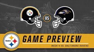 Week 4: Pittsburgh Steelers vs. Baltimore Ravens | Game Preview