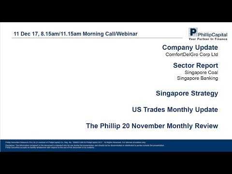Market Outlook: ComfortDelGro, Banking, Coal, Strategy Updates, Phillip 20 Portfolio