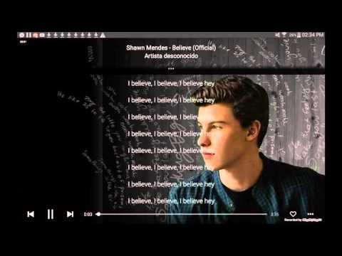 Shawn Mendes - Believe / letra