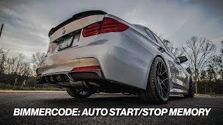 Bimmercode auto startstop memory