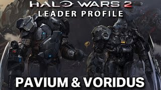 Leader Profile: Pavium & Voridus - Halo Wars 2