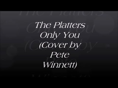 Only You - The Platters - Acoustic Guitar Cover Lesson - Chords Rhythm & Lyrics - (By Pete Winnett)