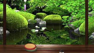 Japanese Garden・Zen Music・Meditation Music・Sleep Music・Healing Music・Soothing Music・Calming Music