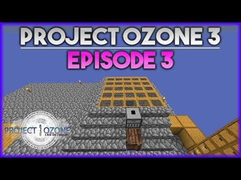 AUTOMATISATION DES SIEVES | Minecraft Moddé - Project Ozone 3 | Ep# 3
