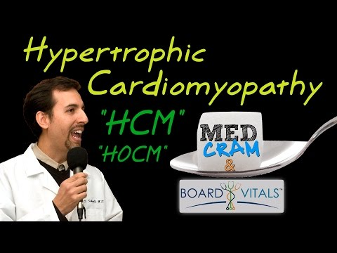 Hypertrophic Cardiomyopathy (HCM) Explained Clearly by MedCram.com - A BV Question