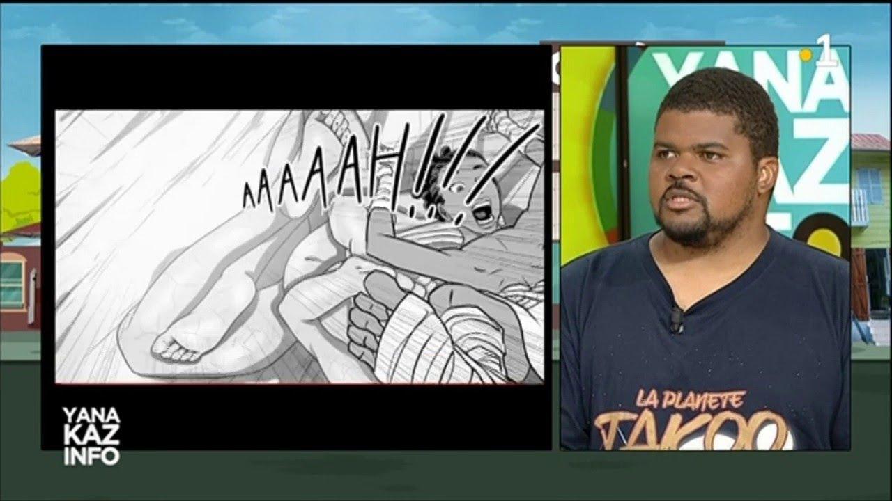 Premier manga guyanais : La Planète Takoo. By TEEYANDEE
