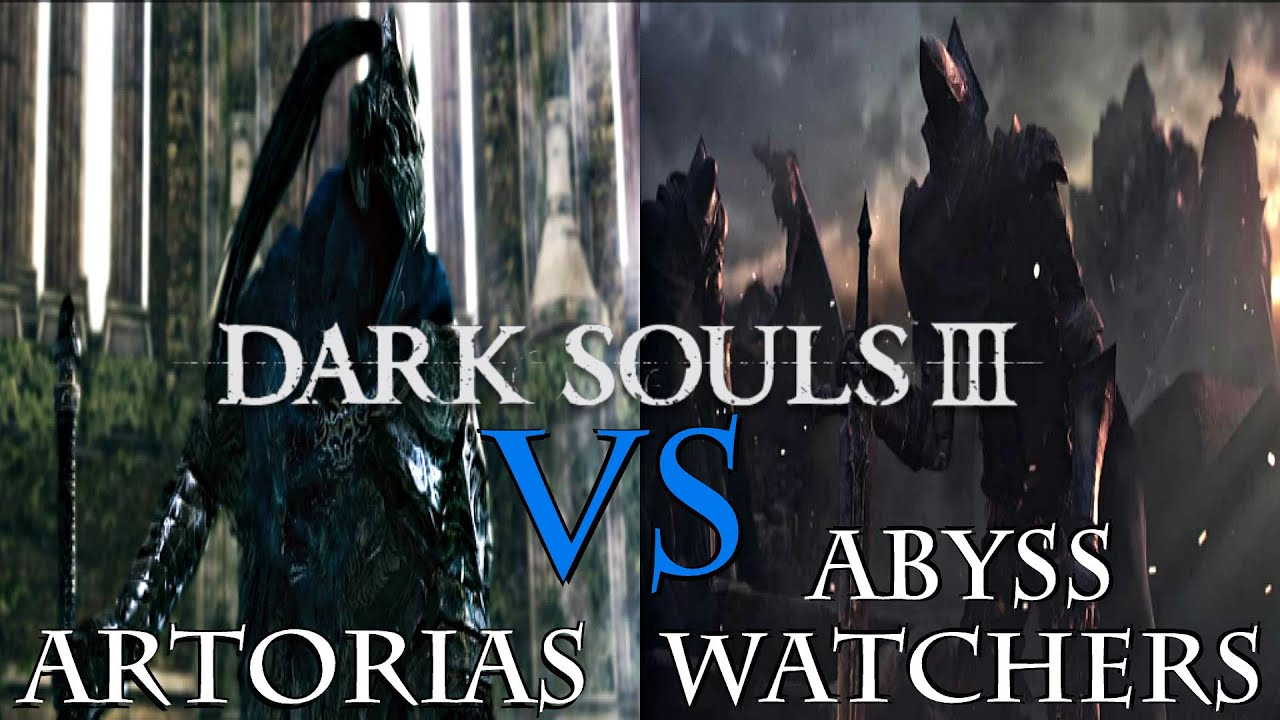 Dark souls 3 abyss watchers vs artorias the abysswalker - Watchers dark souls 3 ...