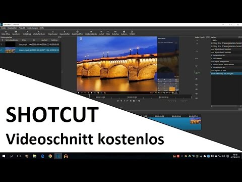 Free video editing with shotcut | software introduction
