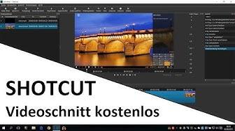Videos kostenlos schneiden mit SHOTCUT | Programm Einführung deutsch