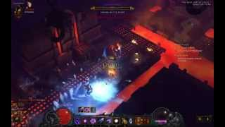 Diablo 3 level 70 wizard Gameplay 1.3 million dps patch 2.0.2  HD