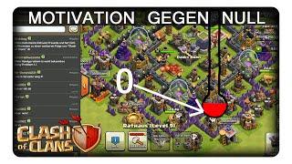 MOTIVATION GEGEN NULL || CLASH OF CLANS | Let's Play CoC | Deutsch | German