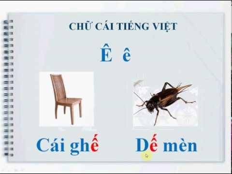 Dạy bé đọc bảng chữ cái Tiếng Việt 2016