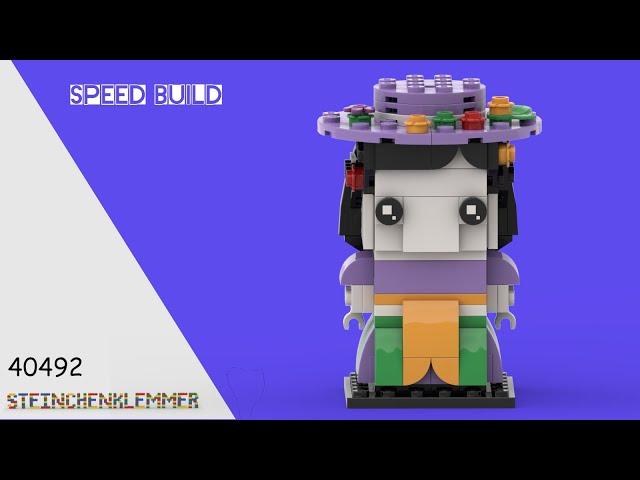 40492 La Catrina | Speed Build