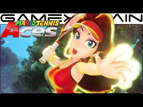 Mario Tennis Aces - Pauline Gameplay + Special Shot (March Tournament Unlockable Reward!)