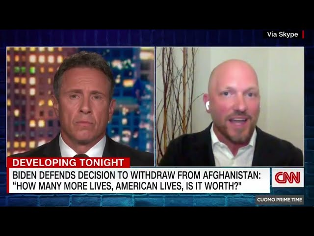 CNN - CUOMO PRIMETIME: ASSESSING THE AFGHANISTAN WITHDRAWAL