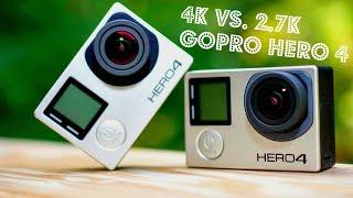 4K vs 2.7K - GoPro Hero 4 Black