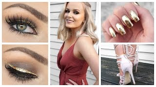 Formal Makeup, Outfit + Hair | Get Ready With Me!