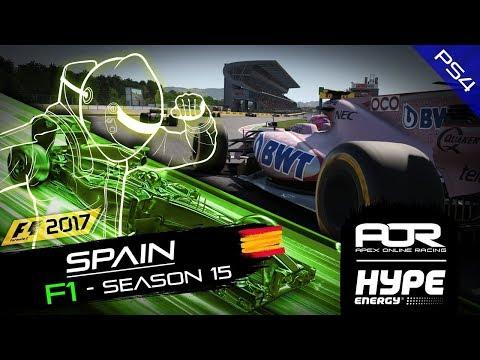F1 2017   AOR Hype Energy Leagues   PS4 S15   R5: Spanish GP