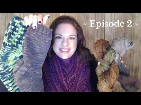 Episode 2: Llamas vs Alpacas ~ Sock Stash ~ Butterfield Alpacas & Fiber Arts