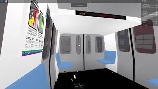 Roblox Subway Testing RARE: R160 (R) Train