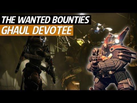 Destiny 2 Forsaken - Wanted Ghaul Devotee Location! (Spider Wanted Bounty)