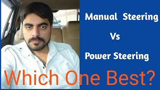 Mannual Vs Power Electric | Hydro pump Steering #Techobharat