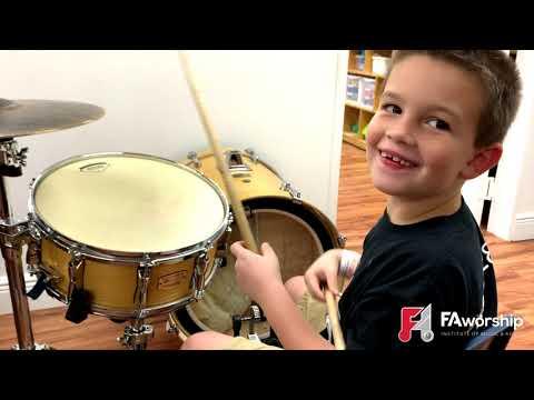 "FA Music School Merry Christmas ""Crayons Christian School Students"""