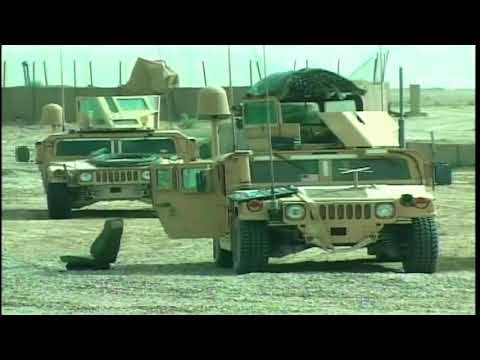 Iraq War - Marines Conduct Route Clearance In Fallujah