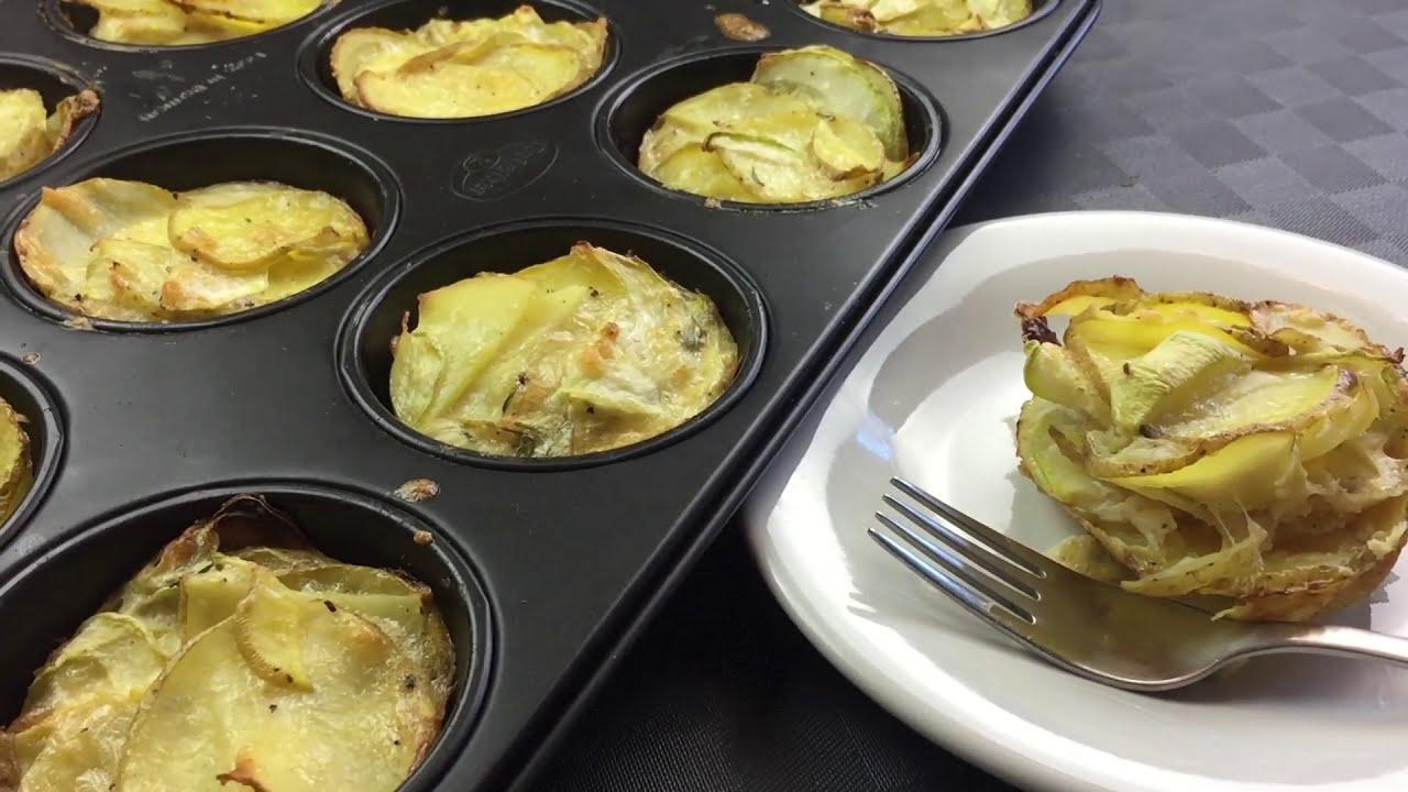 mini tortilla omelett espa ola mit kartoffeln zucchini. Black Bedroom Furniture Sets. Home Design Ideas