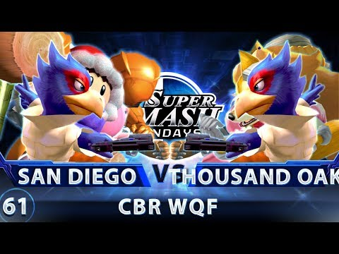 SSS 61 - San Diego vs. Thousand Oaks - SSBM CBR Winners Quarters - Smash Melee