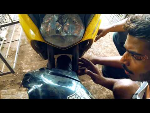 How to dio modified - dio front mudguard - bullet singh boisar