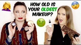 How old is your OLDEST makeup? | BEAUTY NEWS