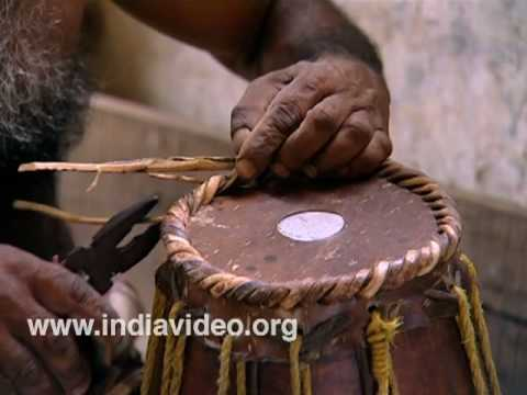 Mridangam Making
