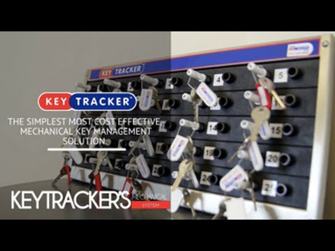 Keytracker S Mechanical Key Management System Youtube