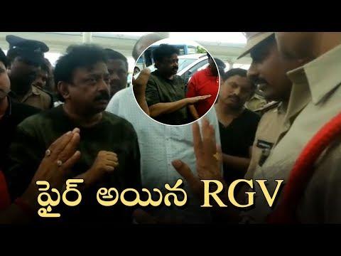 Ram Gopal Varma Argues With Vijayawada Police | Lakshmi's NTR | Manastars