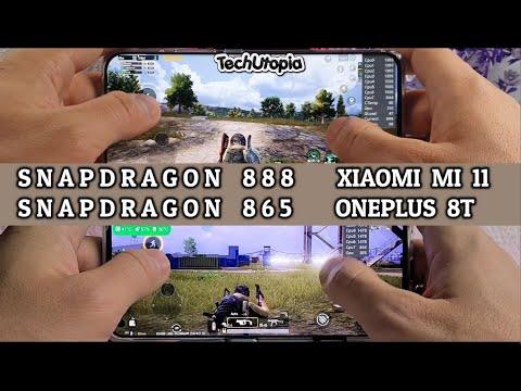 Xiaomi Mi 11 vs OnePlus 8T Speed test/Gaming comparison/Antutu Snapragon 888 vs 865/MIUI vs OxygenOS