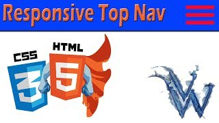 Learn HTML and CSS | Responsive Top Nav With Dropdown | By Amazing Techno Tutorials