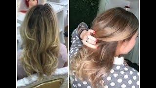4. Из блонда в балаяж / from blond to balayage