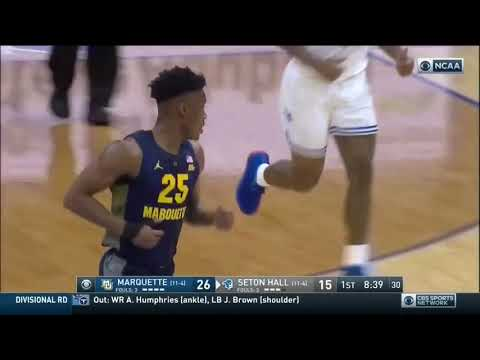 Marquette Courtside - Second-half woes doom Marquette at Seton Hall