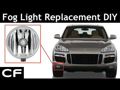 How to Replace Porsche Cayenne Fog Light (955 / 957 DIY Tutorial)