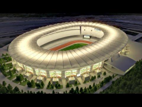 Les nouveaux stades algériens en 2017