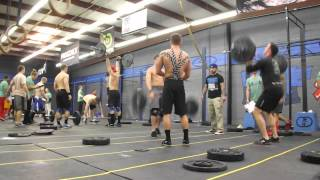 War of the Wods at Crossfit Greensboro 2013- Wod 3