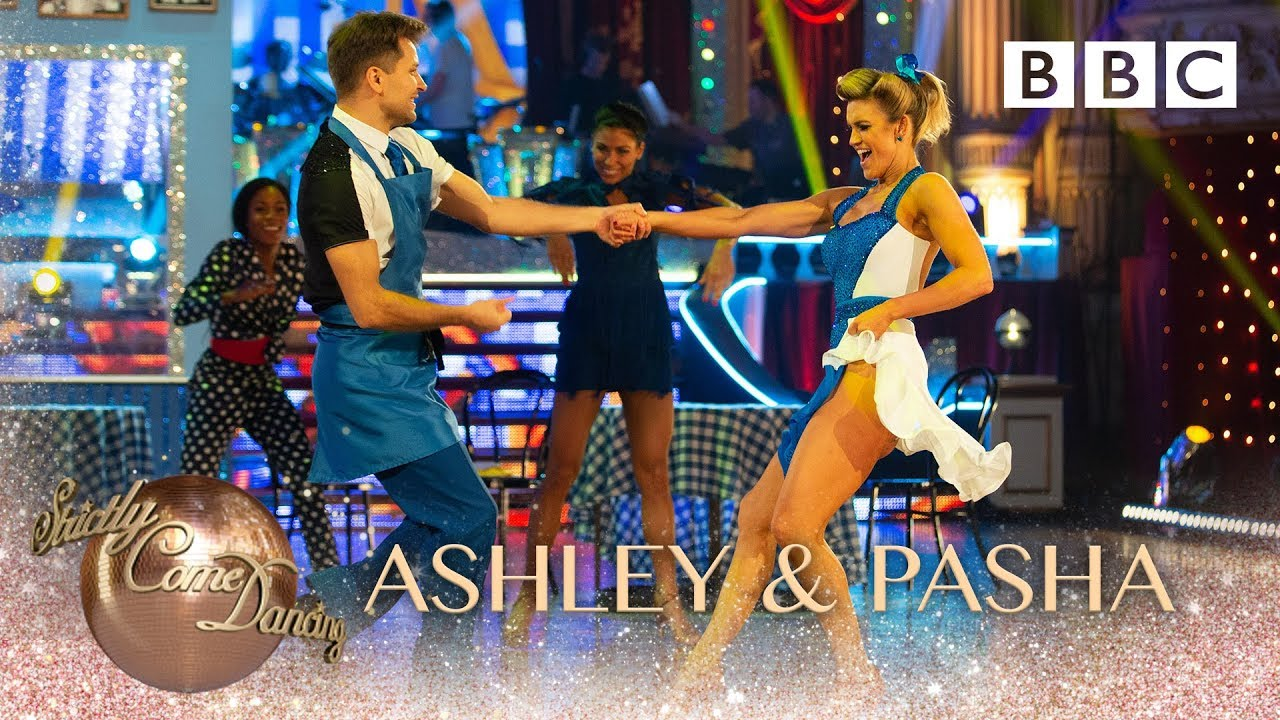 Ashley and Pasha Jive to 'Shake Ya Tail Feather' by The Blues Brothers - BBC Strictly 2018