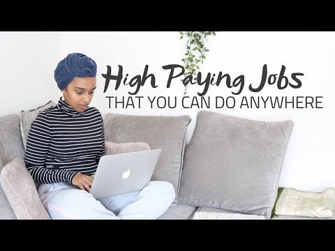 HIGH PAYING WORK-AT-HOME JOBS OF 2019 | PAID DAILY